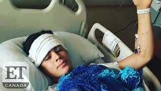 Nash Grier Talks About Condition Of His Brother Hayes Grier After Accident | Teen Choice Awards