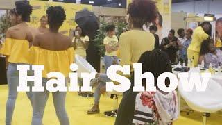 WORLD NATURAL HAIR SHOW ATLANTA | TALIAH WAAJID 2018