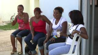 preview picture of video 'Samaná Fahrt durch El Limón'