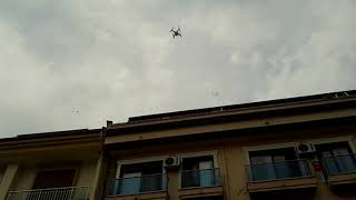 DJI Phantom Quad Copter Test Fly Drone DJI Phantom DJ MAD SOUND LIGHT SYSTEM 48 MARMARİS Türkiye