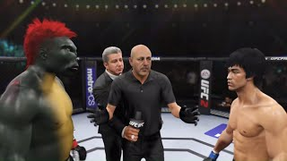 Red Dragon vs. Bruce Lee (EA Sports UFC 2)