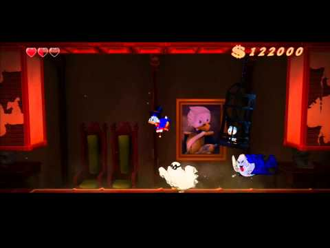 DuckTales Remastered – gameplay videa z levelů Transylvania a Amazon