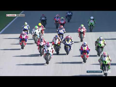 スーパーバイク世界選手権 SBK 第6戦スペイン(カタルニア・サーキット)スーパーポールの見所を集めたハイライト動画