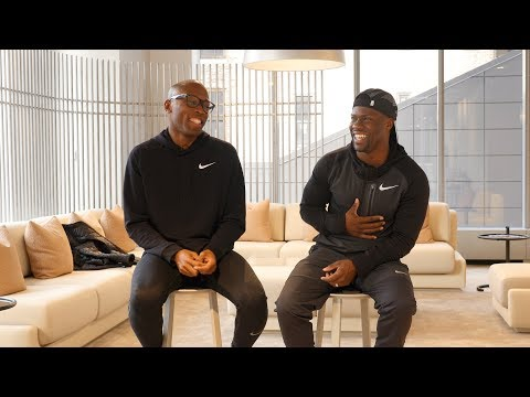 1 on 1 With Kevin Hart For the New York Marathon (видео)