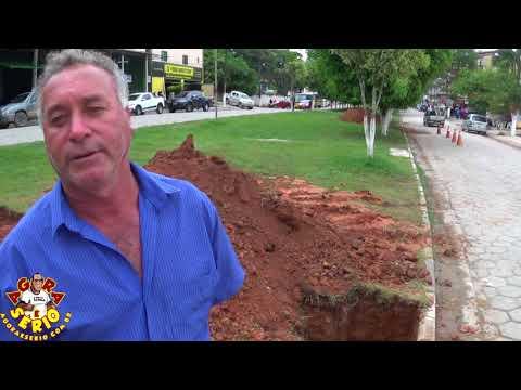 Paulinho Xavi fala sobre a obra para conter a enchente