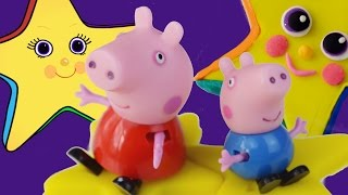 Twinkle Twinkle Little Star with Peppa Pig & Rainbow Play Doh Twinkle Star Magical Adventure