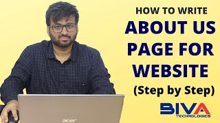 Do you know How to Write About Us Page for Website