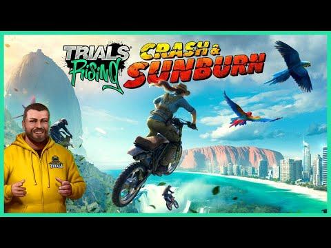 Crash & Sunburn DLC - First Playthrough (Best DLC ever?) - Trials Rising