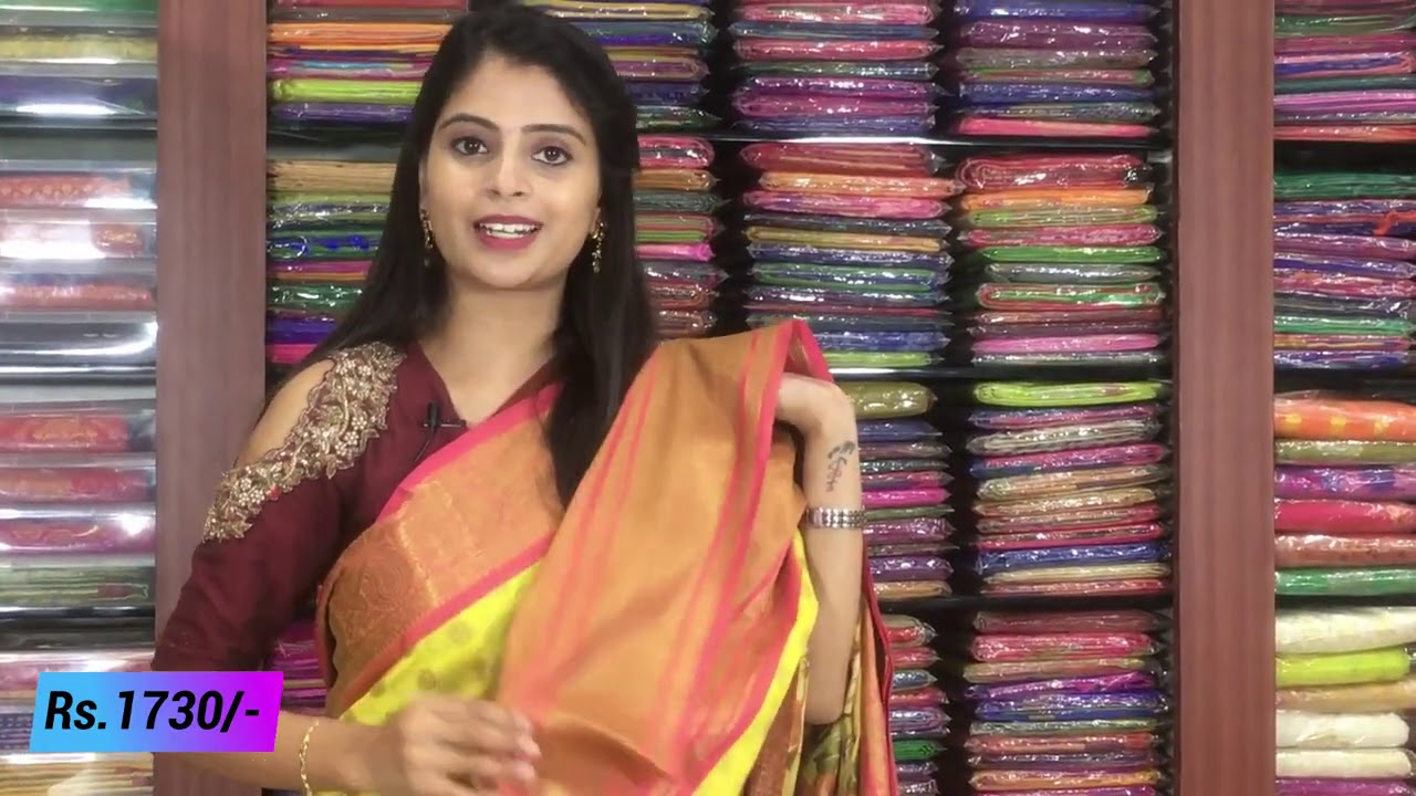 "<p style=""color: red"">Video : </p>Banaras  Sarees Collections In Low Price  