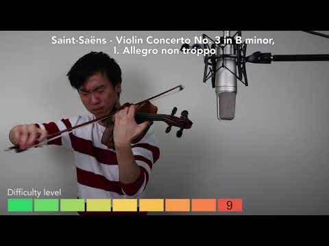 The 12 levels of violin playing