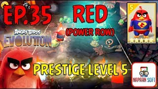 ANGRY BIRDS EVOLUTION - PRESTIGE LEVEL 5 - RED(POWER ROW) - 5 STARS PREMIUM EGG