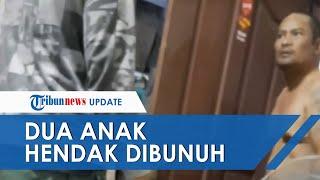 Berniat Bela Sang Ibu yang Kabur dari Rumah, 2 Anak di Medan Hendak Dibunuh Ayahnya dengan Parang