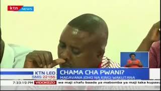 Magavana Amason Kingi wa Kilifi na mwenzake Ali Hassan Joho wa Mombasa wamekutana
