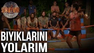 Sabriye'den Erdi'ye Sert Çıkış  53. Bölüm   Survivor 2017