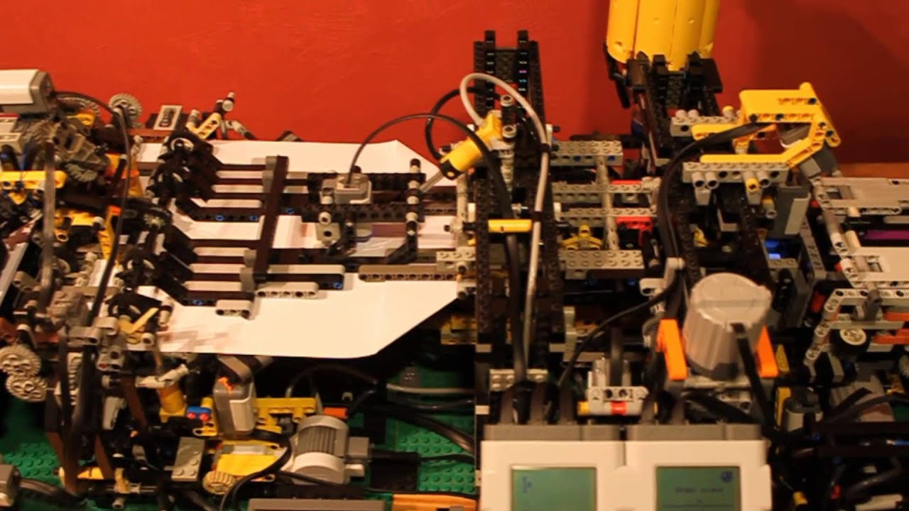 This Amazing LEGO Paper Airplane Robot Can Make And Throw Its Own Planes
