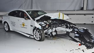 Jaguar XE Crash Tests