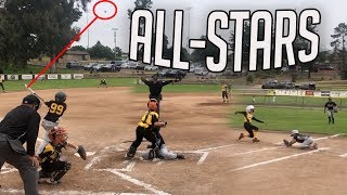 THE BEST YOUTH BASEBALL ALL STAR TEAM I EVER SEEN 👀 | LITTLE LEAGUE ALL STAR BASEBALL GAME