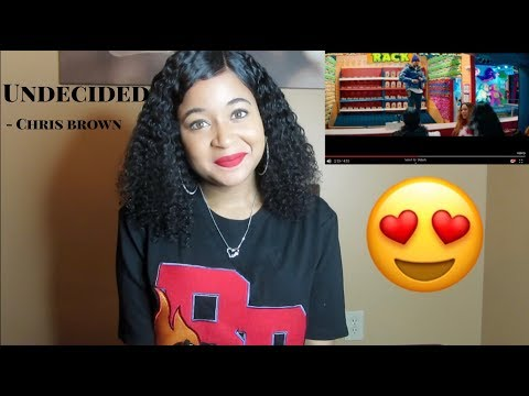 Chris Brown - Undecided (Official Video) REACTION!