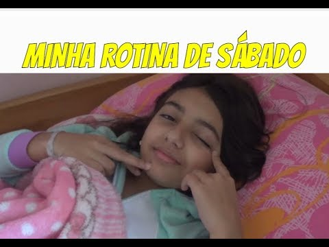 MINHA ROTINA DE SÁBADO ( MY SATURDAY ROUTINE ) - Julia Moraes