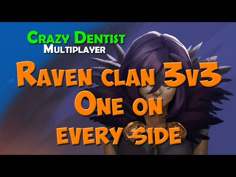 Northgard Raven clan in 3v3 | One on every side