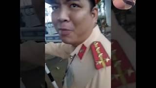 Trần Truồng  CSGT đội 11 Bắt Láo đúng Cụ Nông Dân Học Luật Gắt