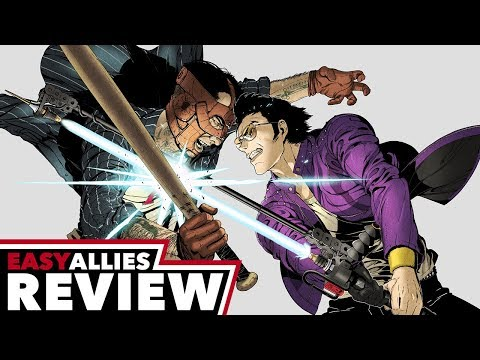 Travis Strikes Again: No More Heroes - Easy Allies Review - YouTube video thumbnail