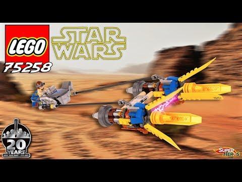 Vidéo LEGO Star Wars 75258 : Le Podracer d'Anakin – Édition 20ème anniversaire