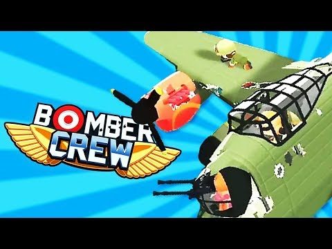 WING RIDING and DESTROYING Fighters- Bomber Crew Gameplay!
