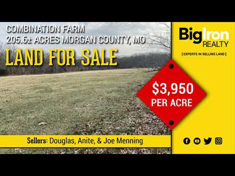205.6+/- Acres Morgan County, MO