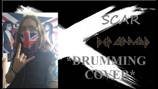 Drumming Cover Of Scar by Def Leppard