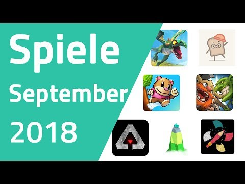 Top Spiele für Android & iOS - September 2018