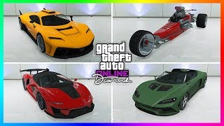 GTA 5 Online The Diamond Casino & Resort - ALL UNRELEASED VEHICLES! Supercars, Prices & MUCH MORE!