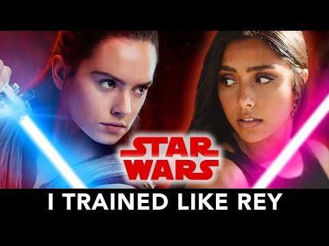 I Trained Like Rey From Star Wars For A Month ⚔️