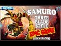 Grubby Heroes of the Storm Samuro Three Blades Style TL Battlefield of Eternity
