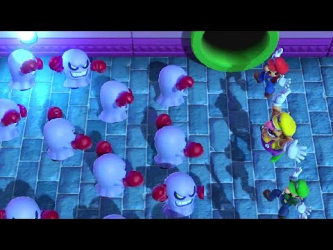 Mario Party Series - Tricky Minigames