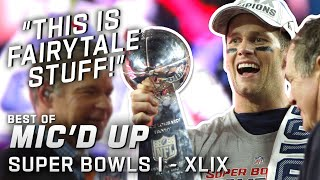 """""""This is fairytale stuff!"""" Best Super Bowl Mic'd Up Moments!"""