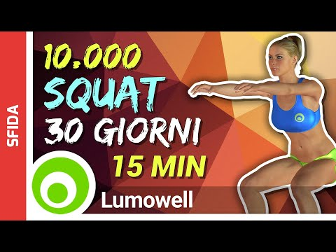 come fare squat di perdita di peso