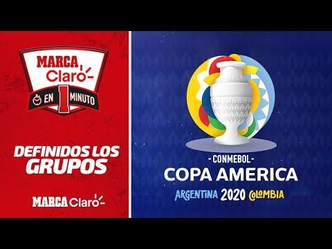 Asi quedaron los grupos de la Copa America 2020: Argentina vs Chile, el partido inaugural