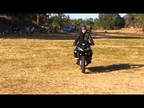 Motorstar xplorer 200r Practice driving at sunken