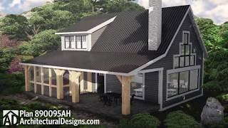 Architectural Designs Unique Cabin Plan 890095AH Virtual Tour