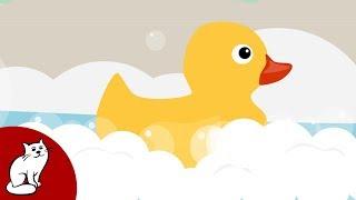КУПАЕМСЯ - веселая детская песня мультик для малышей про мытьё в ванне