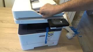 Unboxing Xerox B215