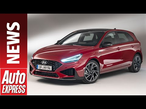 New 2020 Hyundai i30 facelift - refreshed hatchback takes on Focus and Golf