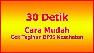 Cara Cek Tagihan BPJS Kesehatan Badan Usaha WA 0857 1219 4466