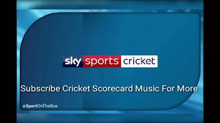 Sky Sports ( England  ) 2018 Scorecard Music .