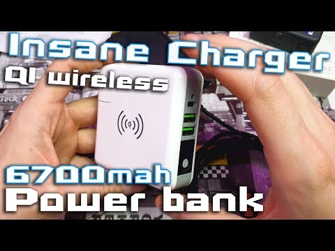 Bakeey 3 in 1 charger with 6700mAh Power Bank Review