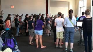 IDRS Double Reed Flash Mob Run Through