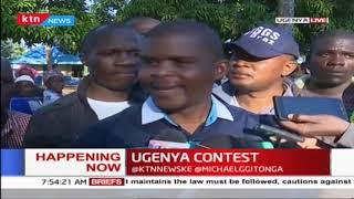 Ugenya by-election: ODM's Chris Karan casts his vote