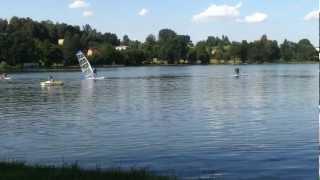 preview picture of video 'Zebrzydowice zbiornik wodny Młyńszczok'