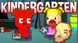 MONSTERMON CARDS DO BAD THINGS TO KIDS - Finding All Monstermon Cards - Kindergarten Gameplay #8